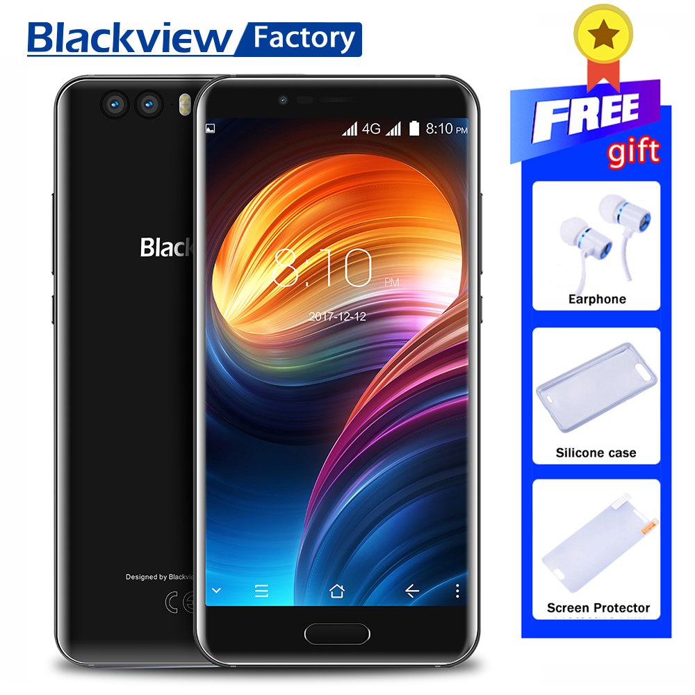 Blackview P6000 Face ID+Touch ID 4G Cell phone 21.0MP Camera 5.5FHD 6GB+64GB Mobile phone GPS Android 7.1 Octa Core Smartphone