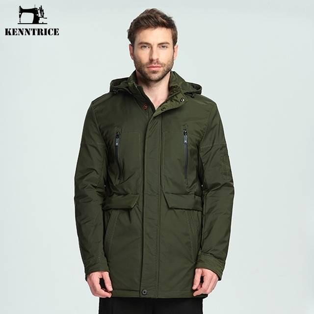 227f38952 Online Shop KENNTRICE Winter 2018 Parka Trench Coat Pilot Jacket ...