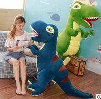 huge 200cm creative plush toy dinosaur Tyrannosaurus Rex soft hugging pillow home decoration birthday gift h2708