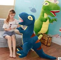 huge 200cm creative plush toy dinosaur Tyrannosaurus Rex soft hugging pillow home decoration birthday gift h2708