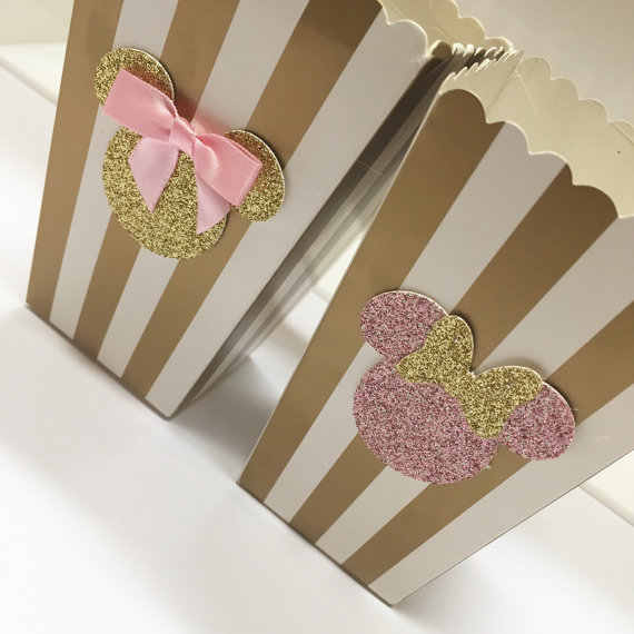 Золотые и серебряные коробки для угощений коробки для попкорна в полоску вечерние буфет для лакомства (20 штук) День рождения душ свадьба юбилей