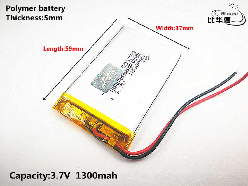 Лучший аккумулятор бренд, Большая распродажа PL053759 batteryfor gps, PL503759 литий-ионный аккумулятор для MP4 плеер