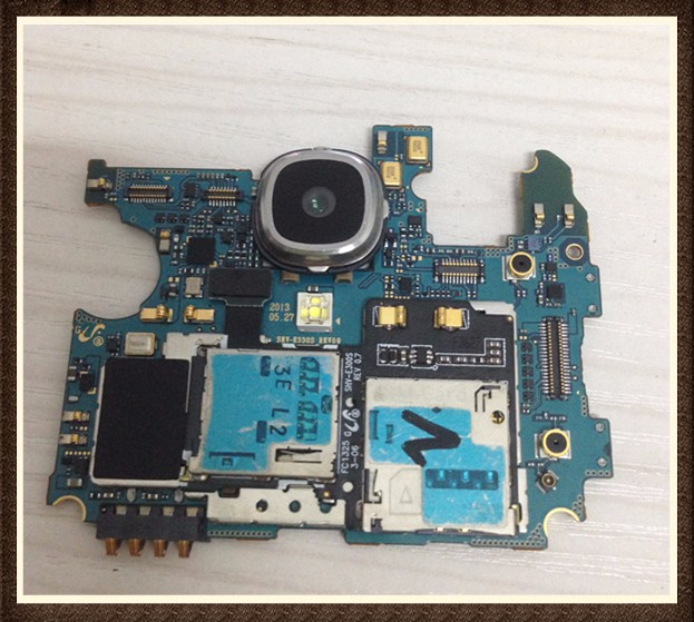 Choose Language ~Unlock Good quality Original Motherboard For  S4 LTE-A E330S free shipping choose language good quality original motherboard with cable for lumia 800 free shipping