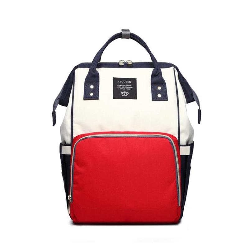 Image 4 - Рюкзак для подгузников, сумка для мам, Большая вместительная сумка для мам и детей, многофункциональные водонепроницаемые уличные дорожные сумки для подгузников для ухода за ребенком-in Сумки для подгузников from Мать и ребенок