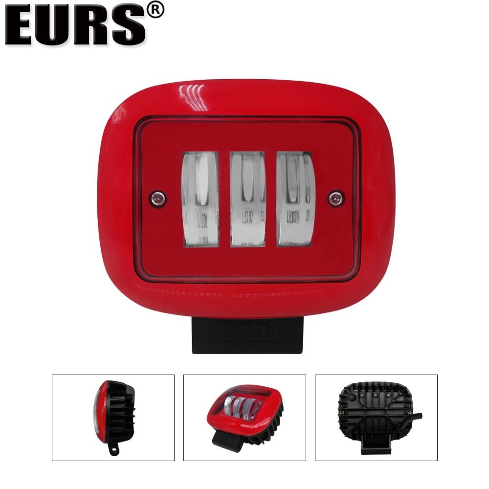 Светодиодсветильник лампы EURS для внедорожников, 30 Вт, 4000 лм, 12 В, 24 В