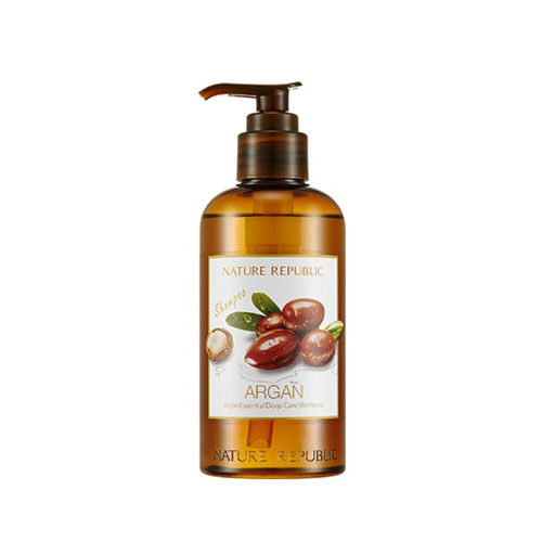 Nature Republic Argan Essential Deep Care Shampoo 300ml Hair Shampoo Straightening Hair Repair Straighten Damage Hair Products