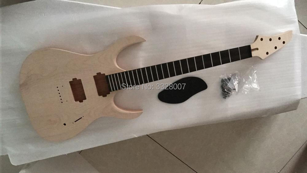 unfinished duvell 6 guitar;body and neck only;Mahogany