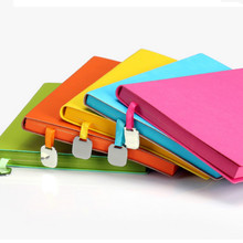 2017 South Korea's creative stationery notebook notepad A5 office business hand books thick diary book