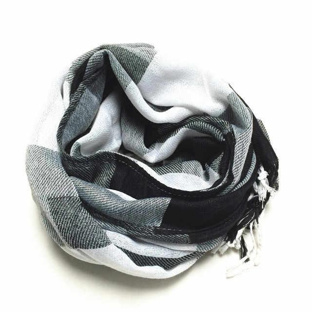 2019 nowych moda szalik zima jesień mężczyzna kobieta szalik poliestrowy Plaid ciepłe miękkie hiszpańskie marki klasyczne akcesoria szal