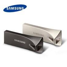SAMSUNG 300 เมกะไบต์/วินาที USB 3.1 แฟลชไดรฟ์ 256 GB 128 GB 200 เมกะไบต์/วินาที 64 GB 32GB ปากกา USB 3.0 ไดรฟ์โลหะ U Disk USB Key Flashdisk