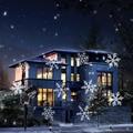 Новый LED Снежинка Эффект Огни Открытый Рождественский Свет Проектора Сад За Пределами Праздника Xmas Tree Украшения Ландшафтного Освещения
