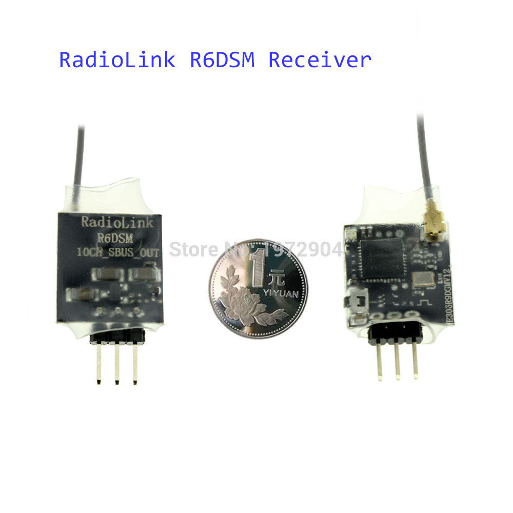 2016 Newest font b Radiolink b font R6DSM 2 4G 10 channels font b Receiver b online get cheap radiolink receiver wiring aliexpress com  at panicattacktreatment.co