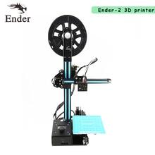 2017 новые Ender-2 мини-принтер 3D RepRap Prusa I3 дешевые 3D принтер DIY Kit машина с нити + 8 г sd карты + Инструменты + очаг
