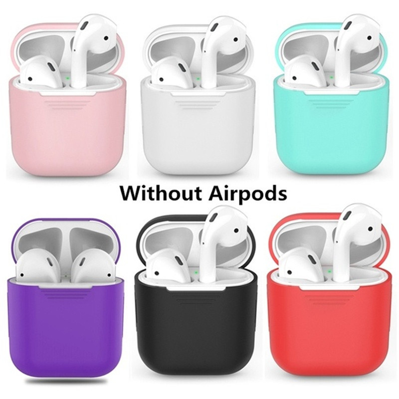 Image 5 - Headphone Housings/Cushions/Bag/Case/Box/Cases For Apple Airpods Headphone Case Airphone Case Earpods Headphone Dust plug-in Earphone Accessories from Consumer Electronics