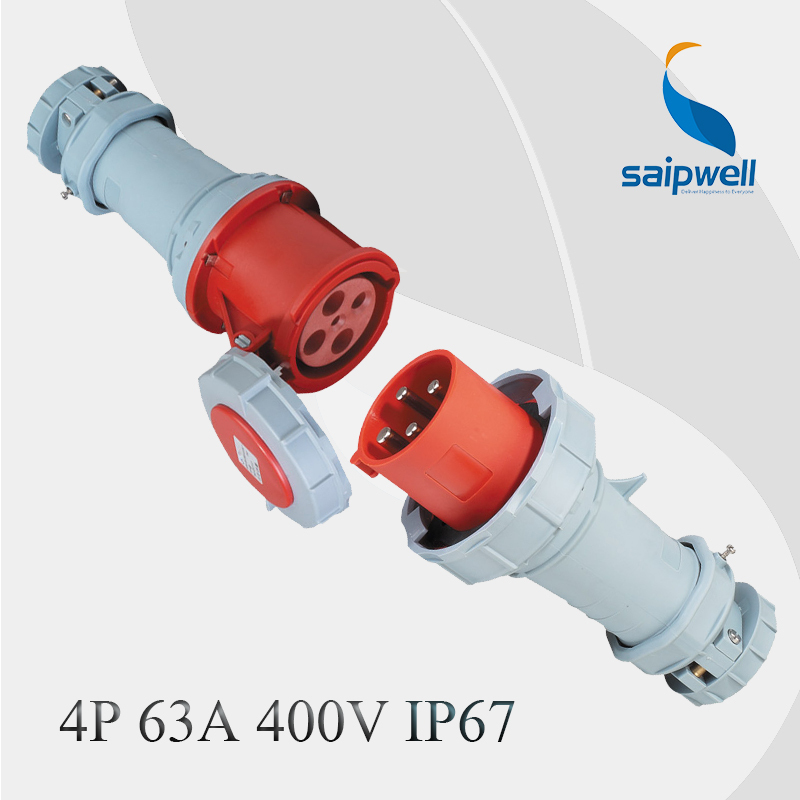 60amp 4P High Quality Industrial Plug Connector IP67 Factory Direct Sell60amp 4P High Quality Industrial Plug Connector IP67 Factory Direct Sell