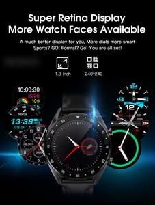 Image 5 - Microwear L7 Smartwatch Fitness Bracelet IP68 Waterproof Tracker Wristwatch ECG Heart Rate Monitor Call Reminder Smart Watch Men