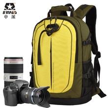 Sinpaid цифровая DSLR камера сумка водостойкий Фото Рюкзак фотография противоугонные видео сумки маленький рюкзак для путешествий камера