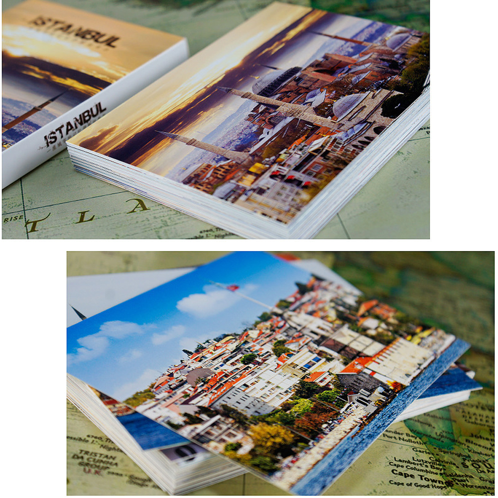 30pcs Istanbul city card multi-use as Scrapbooking party invitation DIY Decoration gift card message card postcard