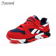 Children shoes boys sneakers girls sport shoes size 26-39 child leisure trainers casual breathable kids running shoes(China)
