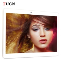 FUGN 10 Inch Original Tablets 4G LTE Phone Call Tablet PC With GPS Wifi Keyboard Pen