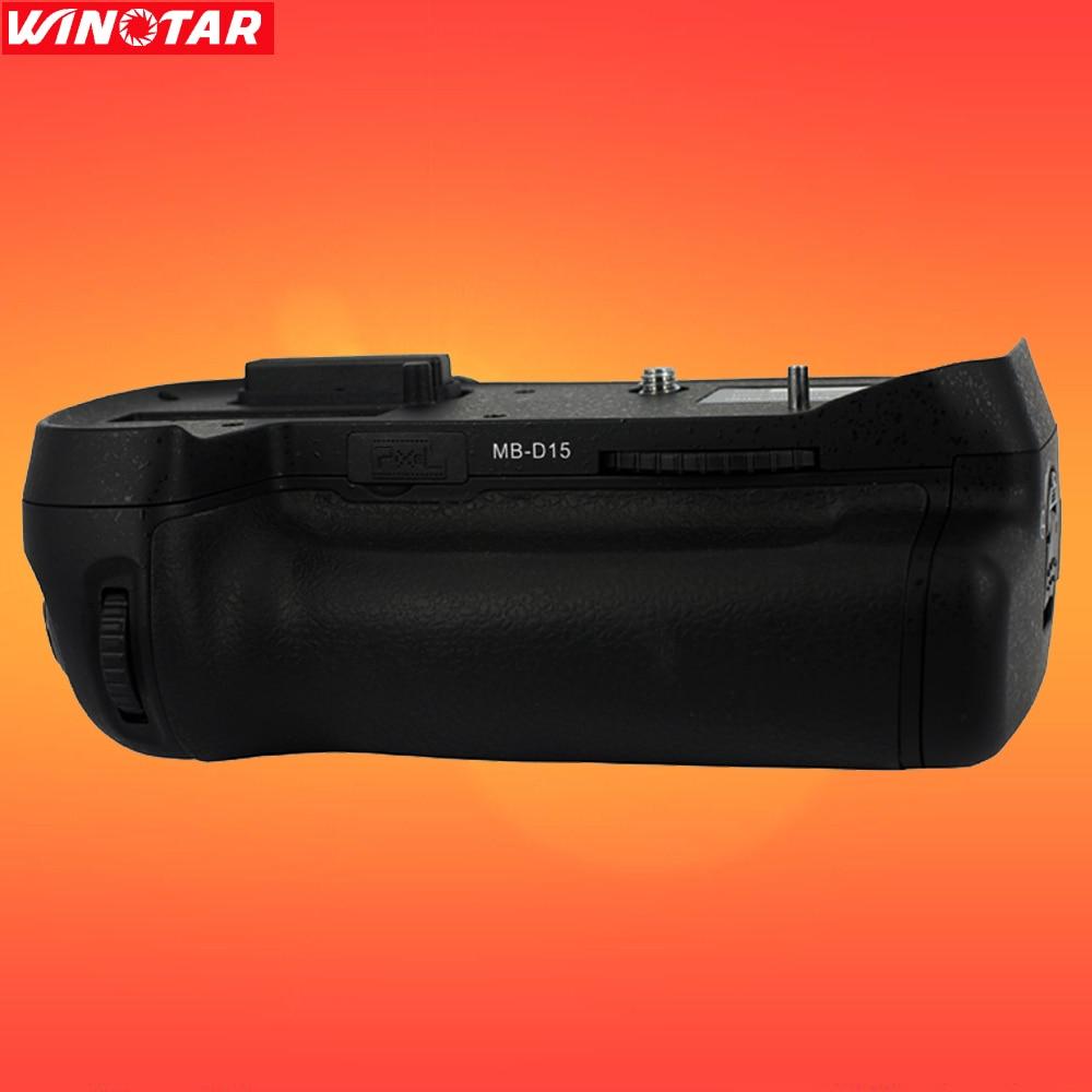 Pixel Vertax D15 Vertical Battery Grip Holder For Nikon DSLR D7100 D7200 Camera as MB D15