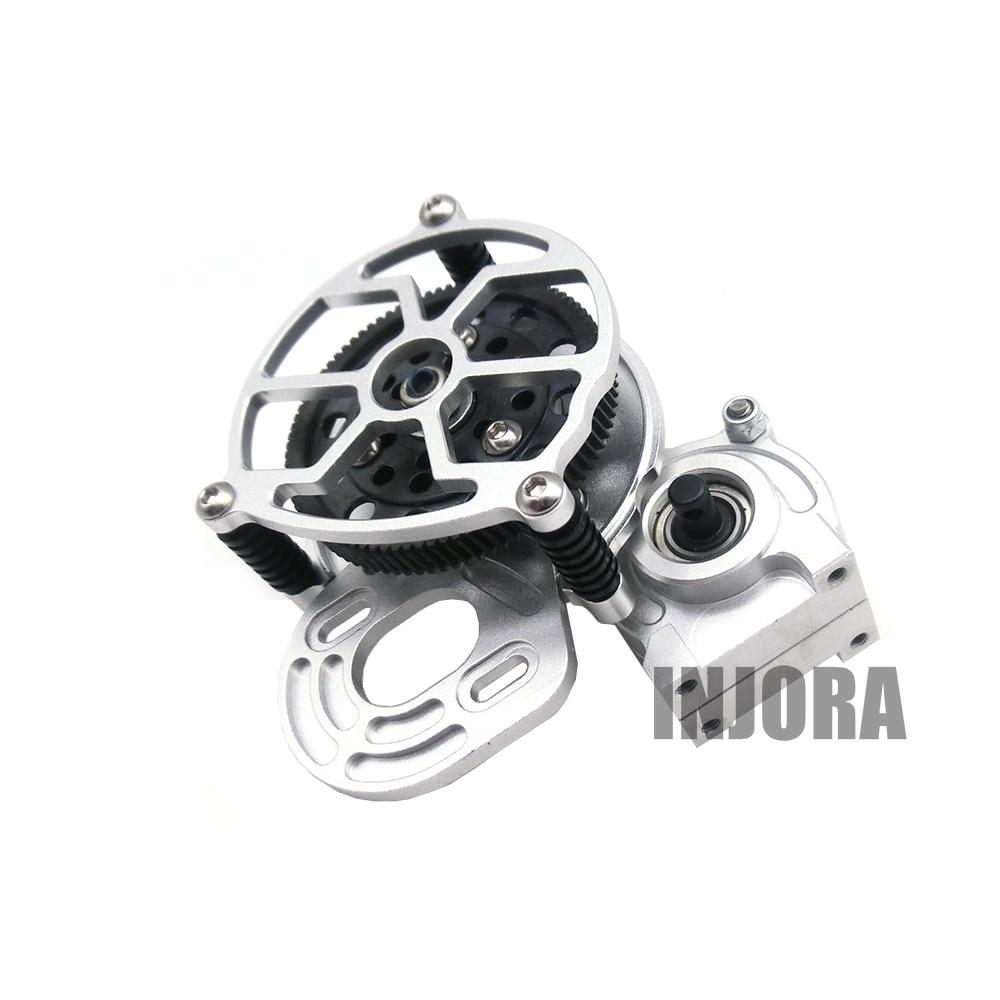 где купить 1:10 RC Crawler Silver All Metal Transmission / Center Gearbox for 1/10 Axial SCX10 Gear Box Parts по лучшей цене