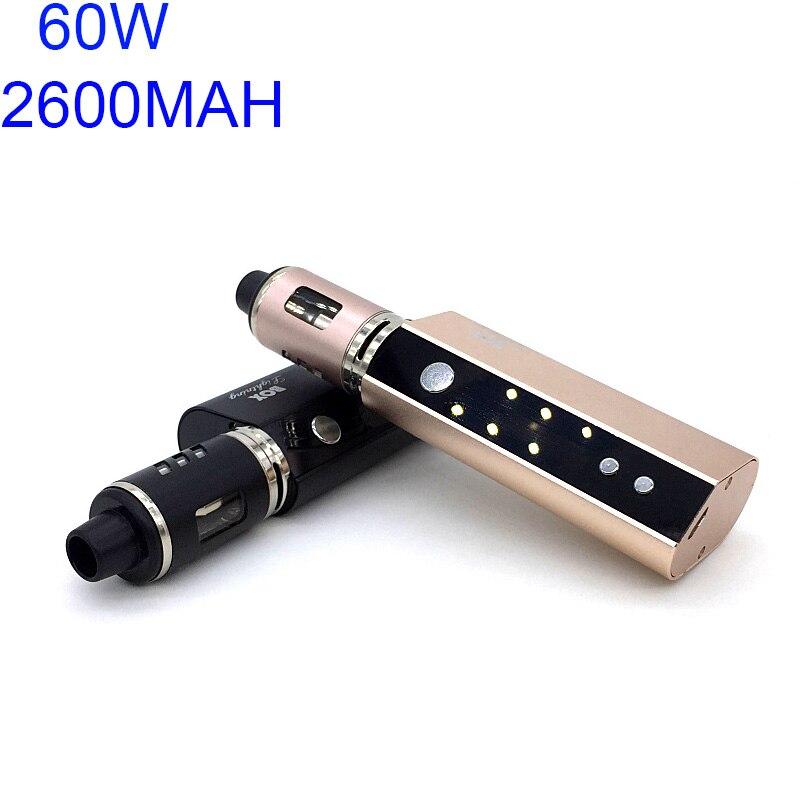 Original 60W Vaper Smoking Box Mod Kit Vape 2600mah Smoker Vaping E Cig Shisha Pen Big Smoke Vaporizer Mech Electronic Cigarette