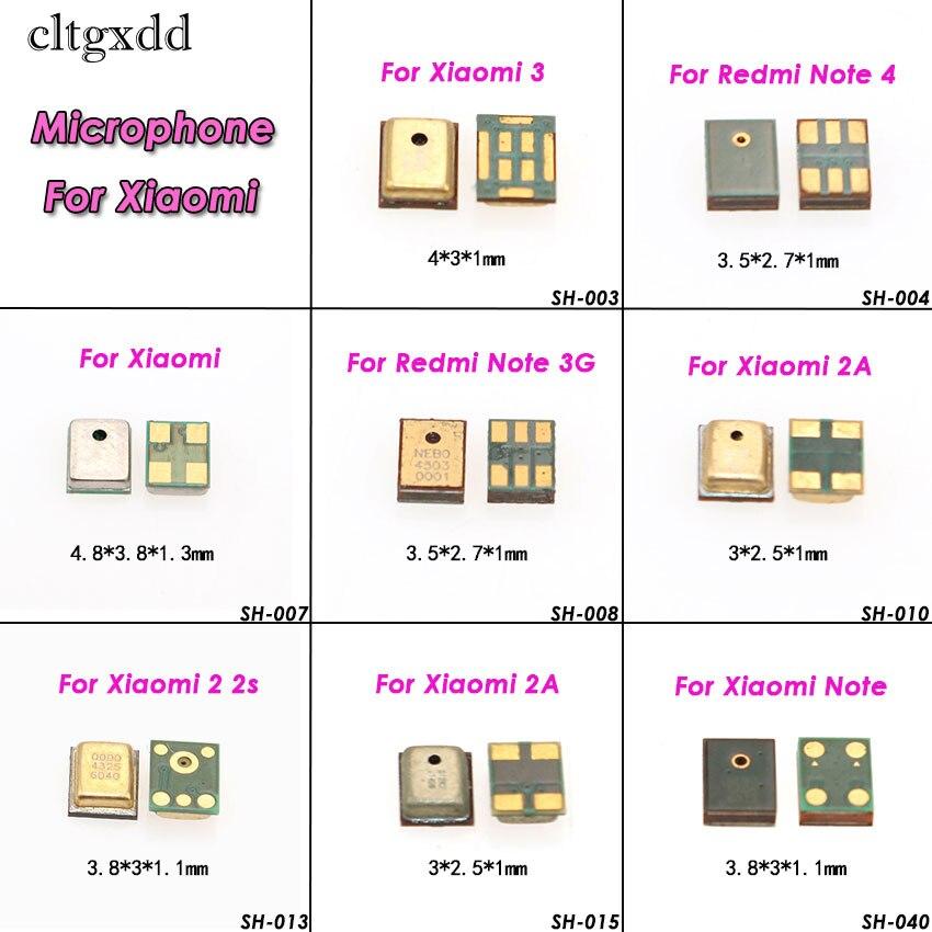 Cltgxdd  Micorphone MIC For Xiaomi 2A Mi2  Redmi 1 1S 2 Pro Redmi Note 3G  2 3Pro 4 4x 4Global Speaker Inner Repair Parts