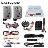 EASYGUARD 6 шт./партия псевдослучайный код Автосигнализация кнопка запуска Автосигнализация автоматически определяет владельца