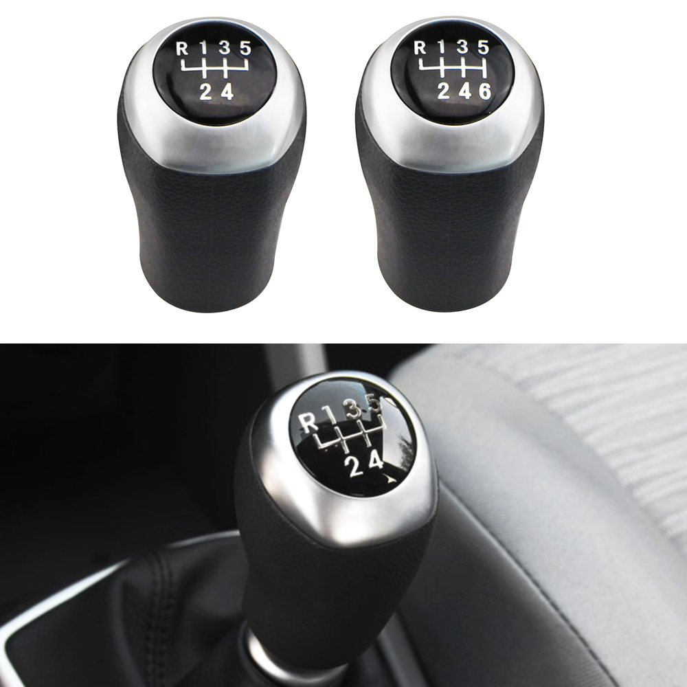 Jameo Auto 5 6 Speed Manual Stick Gear Head Shift Knob Lever Shifter for Hyundai Elantra GT Accent Solaris Avante MD I30 MT ветровики korea hyundai elantra 2013 avante md 2013