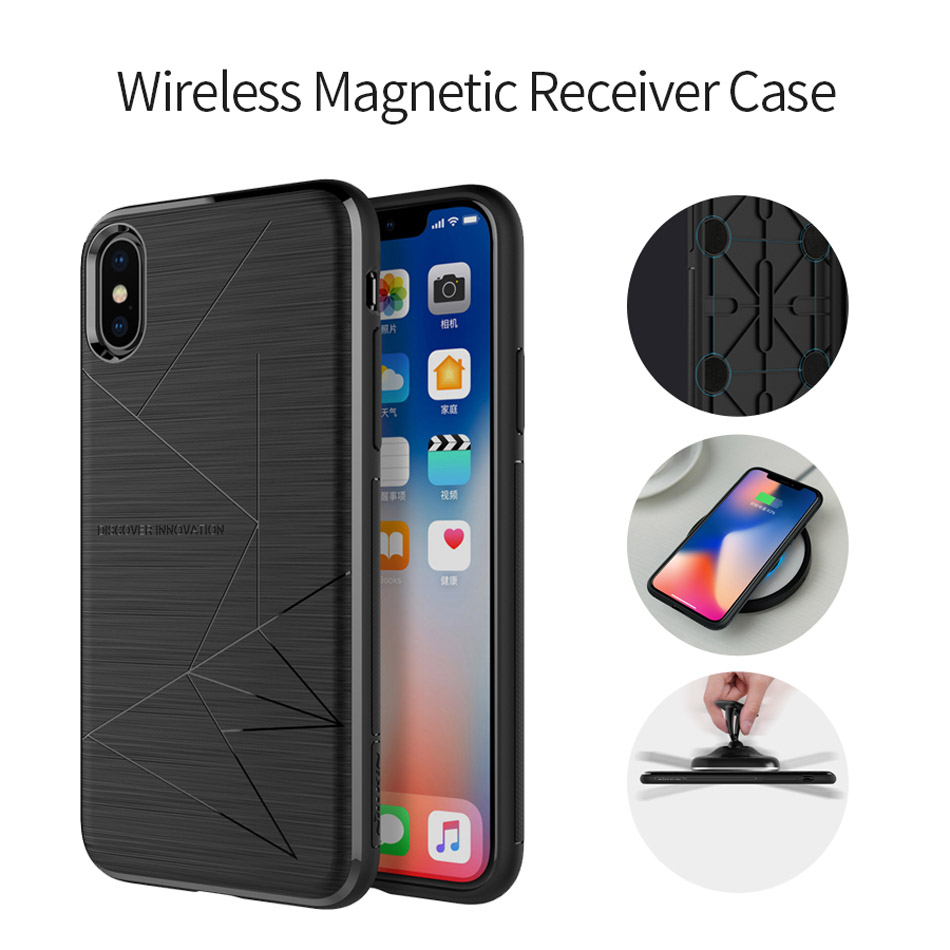 NILLKIN Magnetic Phone Cases For iPhone Xr Xs Max Soft Shockproof Case Cover For iPhone X 8 Xr Plus Cover Car Phone Holder Coque (3)