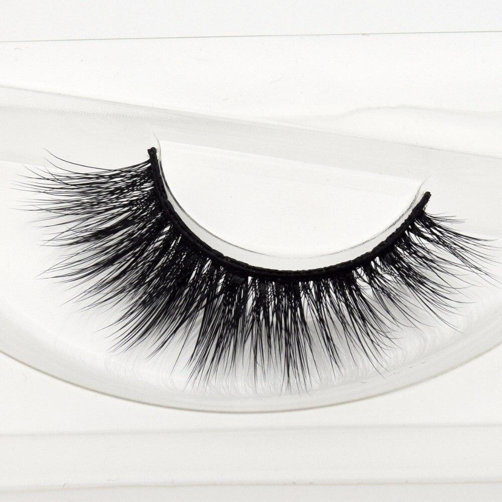 Free DHL 100pairs Visofree Faux Mink Lashes 3D Silk Eyelashes Handmade Full Strip Lashes Dramatic False Eyelashes Makeup 20style-in False Eyelashes from Beauty & Health    3