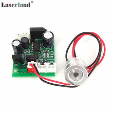 Laserland 18*15mm 650nm 100mW Red Laser Diode Module with TTL 12VDC Focusable
