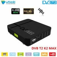 New dvb t2 Mini Set Top box DVB T2 K2 digital terrestrial signal TV receiver H.265 MPEG 2/4 support youtube ac3 iptv dvb tv box