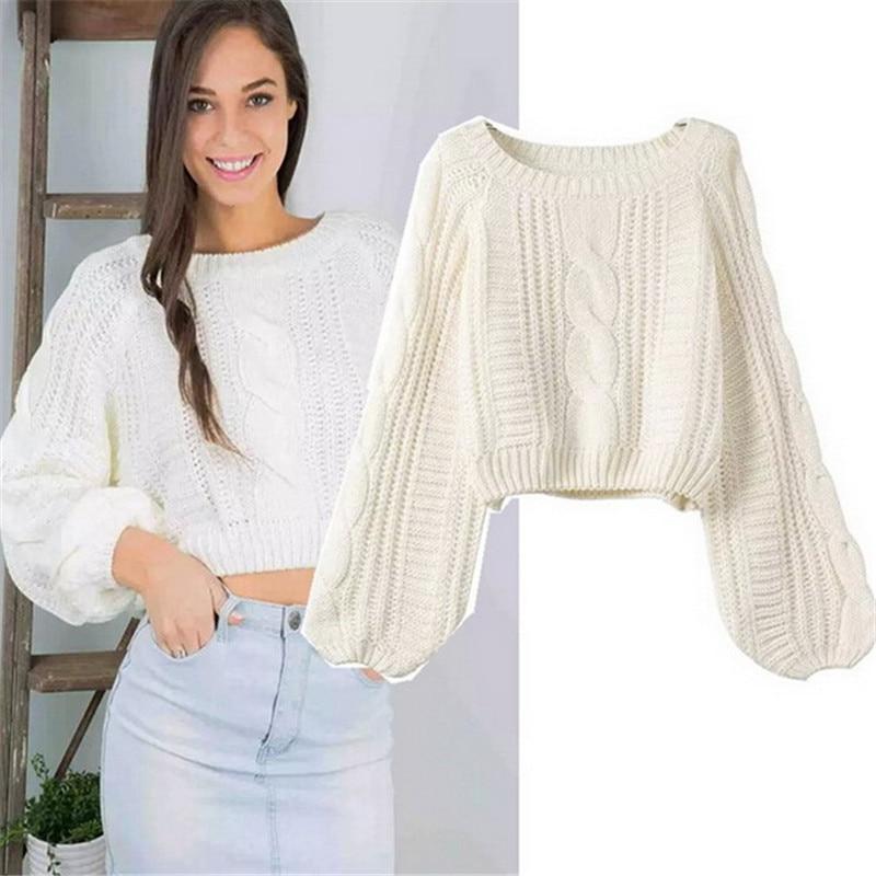 Ladies Knit Pullover Sweater Women 2015 Autumn Chompas