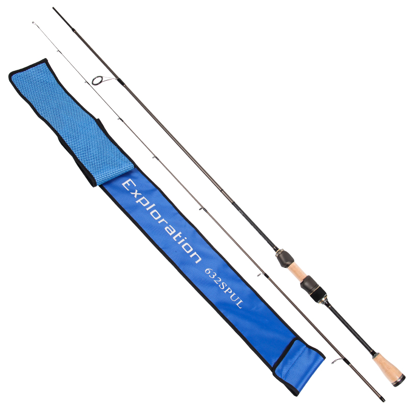 Tsurinoya Exploration Spinning Fishing Rod Carbon Rod 1 89M UL Tone Super Soft Fishing Rod