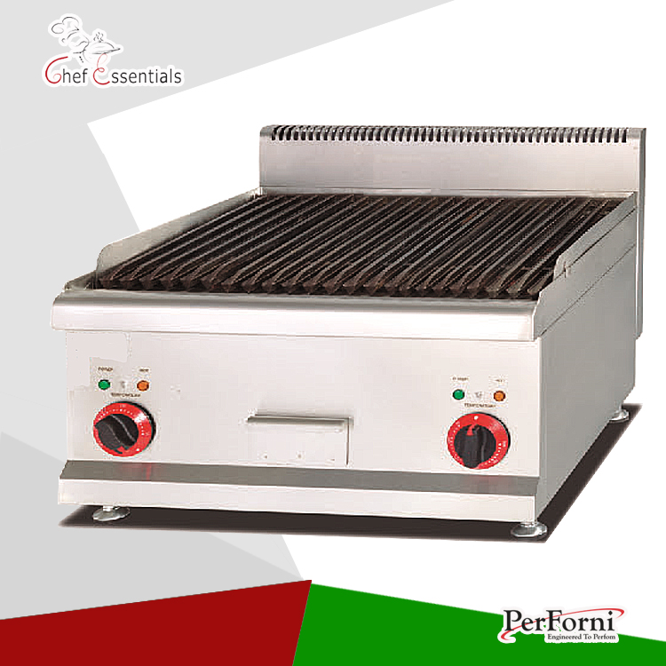 PKJG-EB689 Counter Top Electric Lava Rock Grill/for Commercial Kitchen sinix 689