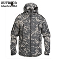 Soft Shell Camouflage Military Uniform Tactical Jacket Men Waterproof Camo Multicam Army Jacket Paintball Airsoft Hunt Clothing