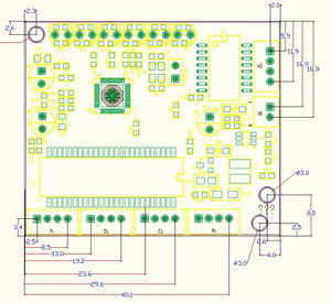 Image 5 - Endüstriyel sınıf 10/100 Mbps geniş sıcaklık düşük güç 4/5 port kablo splitter mini pin tipi mikro ağ anahtar modülü