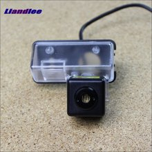 Liandlee Anti Collision Laser Fog Lamps For Toyota Camry (XV50) 2012~2015 Car Rear Distance Warning Alert Line Saft Drive Lights