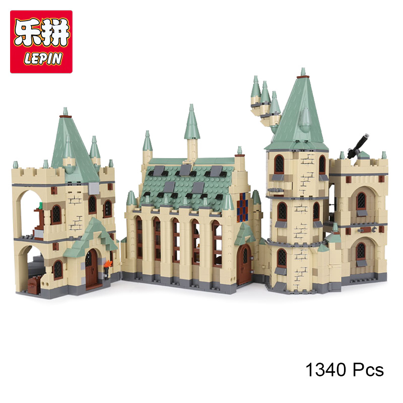 Lepin 16030 Harry Movies Hogwarts Castle potter Creative Building Block Bricks Compatible with Legoinglys 4842 Toys For Children