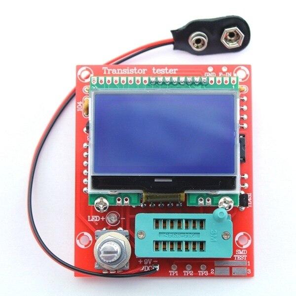 Nowe ZESTAWY DIY M328 Tranzystor LCR Tester Diodowy miernik Esr pojemności Częstotliwości Generatora Sygnału PWM prostokątny