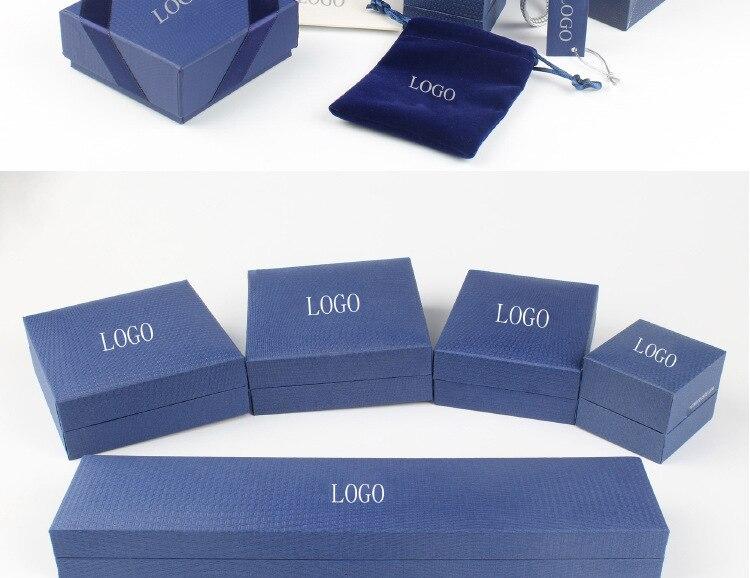 2020 SW Original Crystal From Swarovskis New Necklace Box Jewelry Box Jewelry Box Swans Brand Box