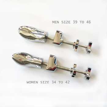 1 Piece Metal Shoe Stretcher Aluminum Alloy Shoe Trees For Men Women, Adjustable Expander Vintage Shoes Tree Shaper Rack