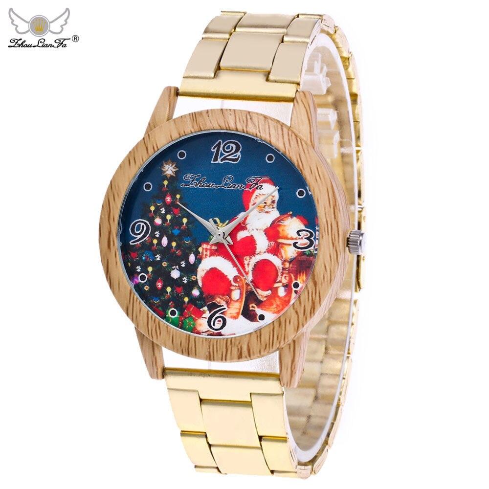 Aimecor 2017 Christmas Elderly Luxury Quartz Stainless Steel Mesh Belt Wrist Watch Gift Y7911*