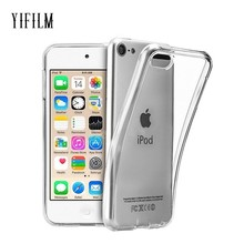 цена на For Apple iPod Touch 5 / Touch 6 7 Case Soft TPU Silicone Back Case Crystal Transparent Slim Anti Slip Shockproof Cover Case