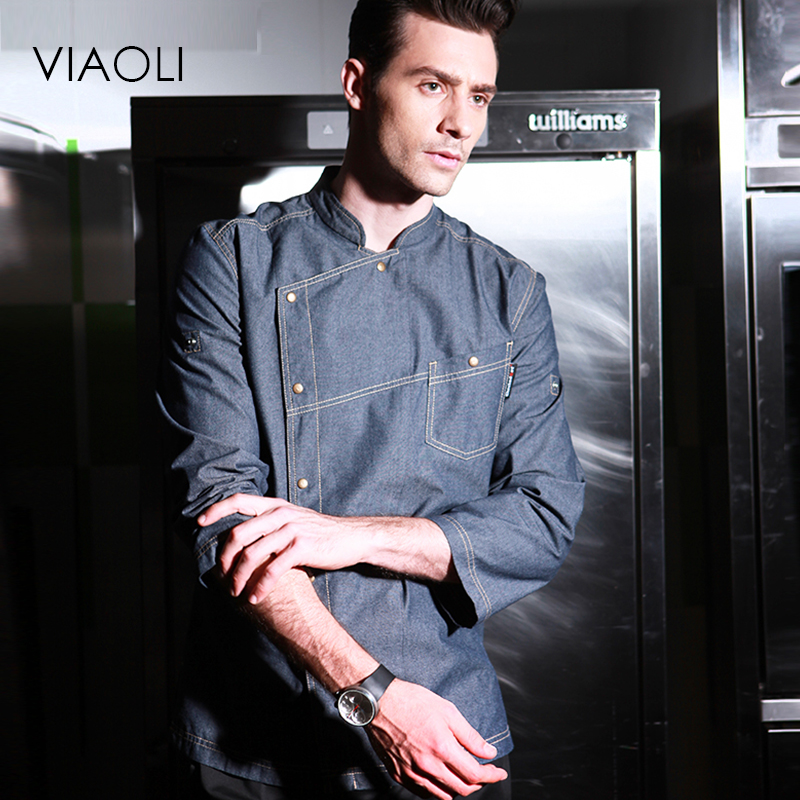 High Quality Chef Uniforms Clothing Short Sleeve Men Food Services Cooking Clothes Big Size Uniform Jackets Overalls Hotel 016