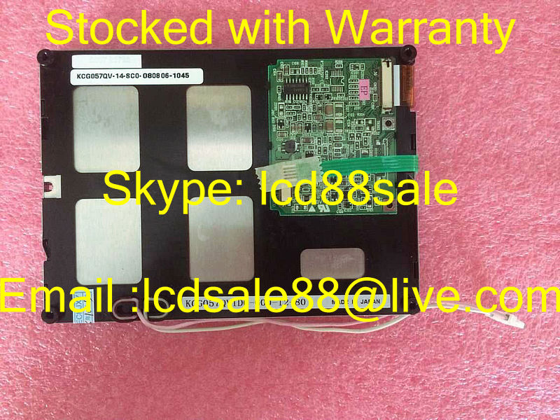 best price and quality  the original  KCG057QV1DC-G00  for   industrial LCD Display