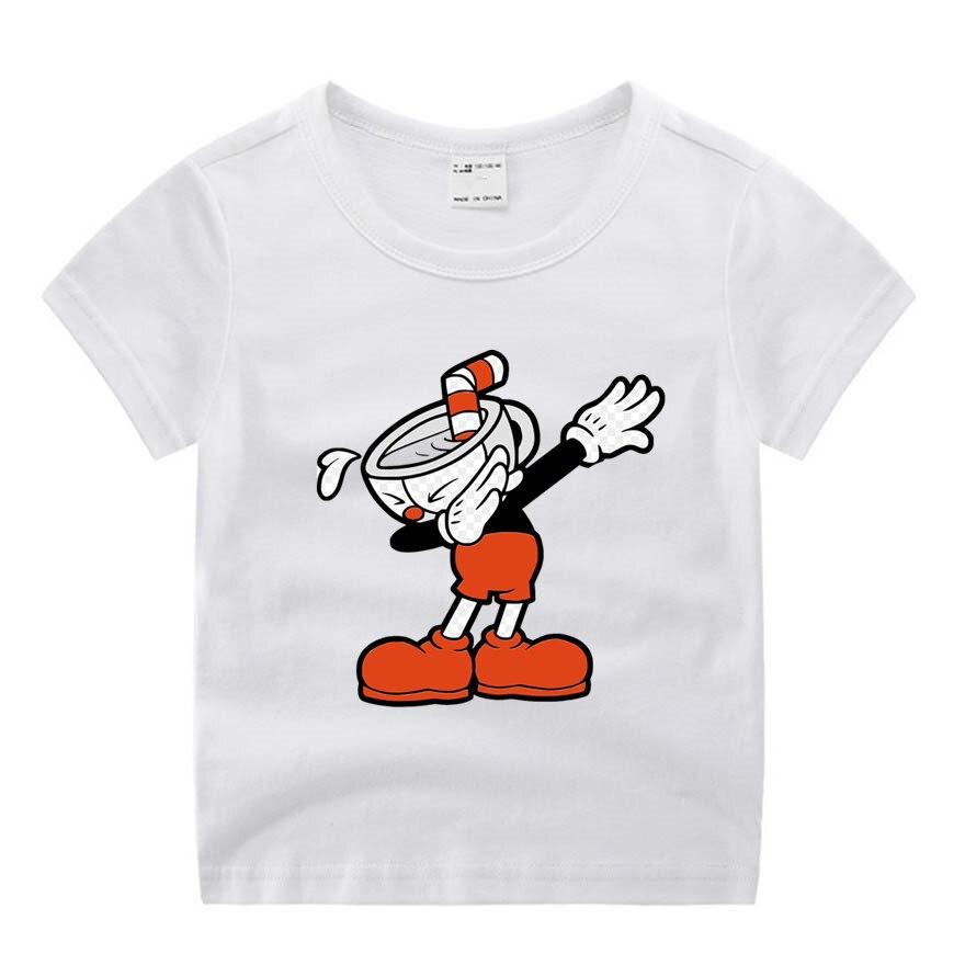 Vêtements pour bébé garçon, d'été, couvre-chef, humoristique, avec film de dessin animé imprimé, haut en o, décontracté