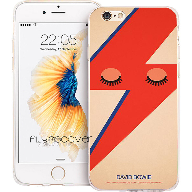 coque iphone 7 plus david bowie
